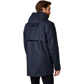 Helly Hansen Moss Insulated Rain Coat Men, azul